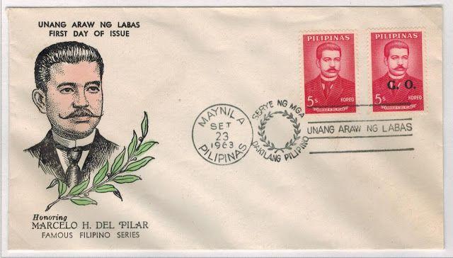 Philippine Republic Stamps - Marcelo H del Pilar