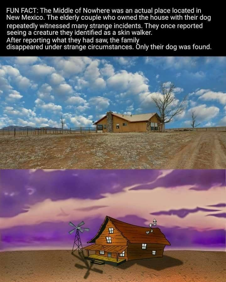 Courage The Cowardly Dog Fun Scary Fact Scary Facts Fun Facts