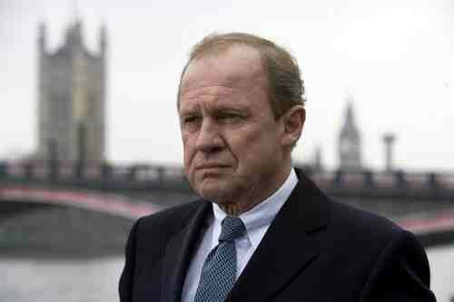 So excited for the film version of MI-5... Coming soon! (The indomitable Sir Harry, played by the wonderful Peter Firth.)