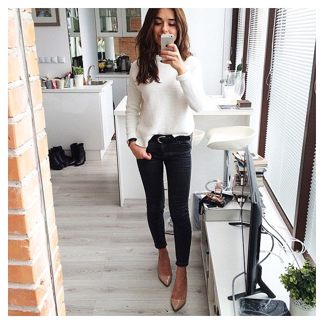 Sunday attire @topshop jumper and trousers @zara_worldwide shoes