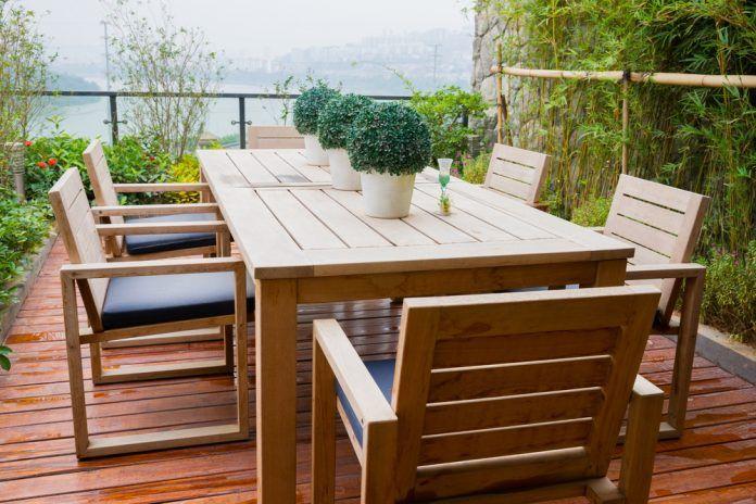 Gartenmobel Aus Holz Reinigen Und Pflegen Gartenmobel Holz
