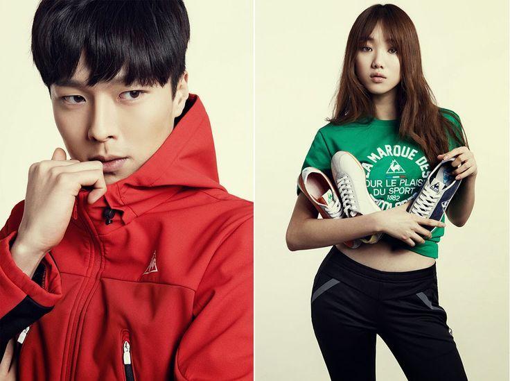 Korea Model모델 /Idol아이돌: 張基龍 - 2014 lecoqsportif