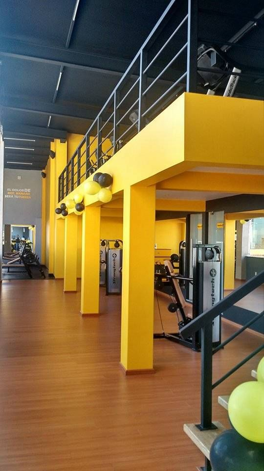 Fotos de gimnasios de estilo moderno gimnasio gym for Gimnasio moderno