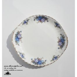 Royal Albert Moonlight Rose taartschaal Handled Cake Plate