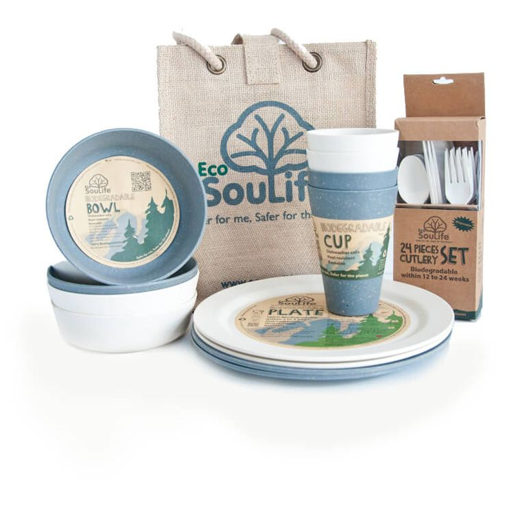 Buy EcoSouLife - Picnic Set - Set of dishes online | Bergfreunde.co.uk  sc 1 st  Pinterest & 82 best Bamboo images on Pinterest | Bamboo Camper and Caravan