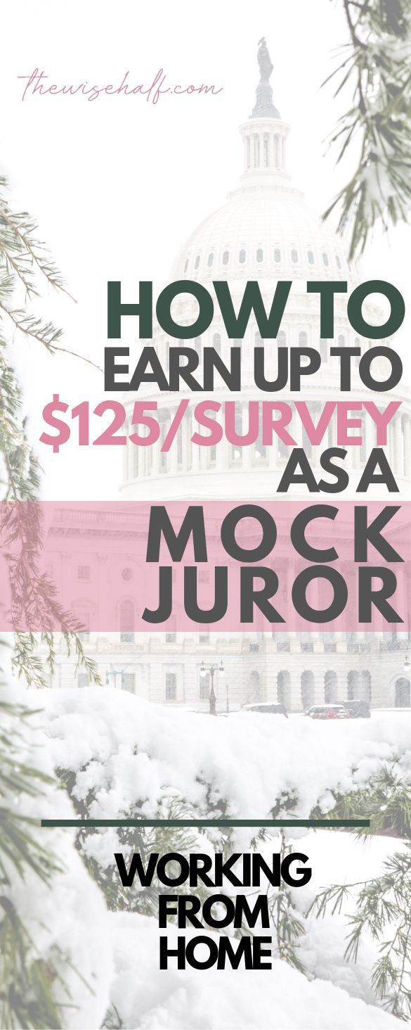 How To Earn Up To $125 As A Mock Juror. 6 Companies To Work With. – Jasmine Weissert