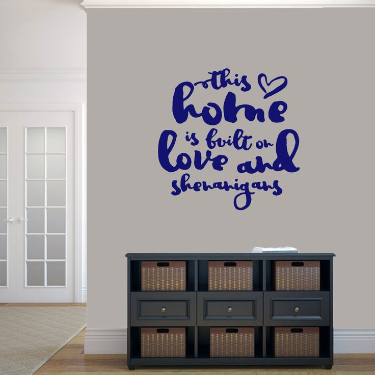 Best Entryway Decals Images On Pinterest - Wall decals entryway