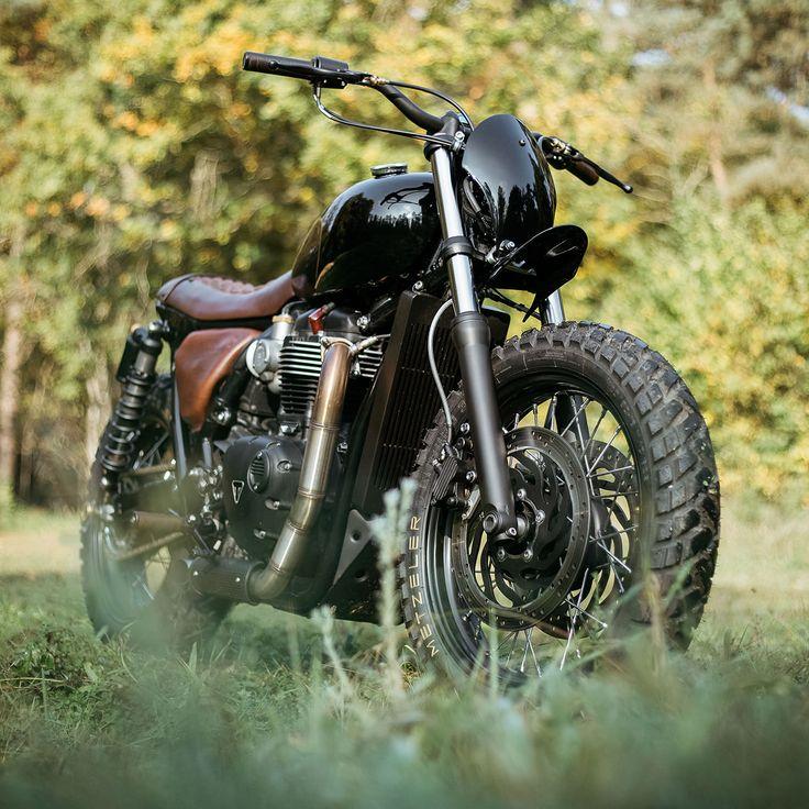 Custom Triumph Bonneville T120 by Old Empire Motorcycles  backyardrider.com
