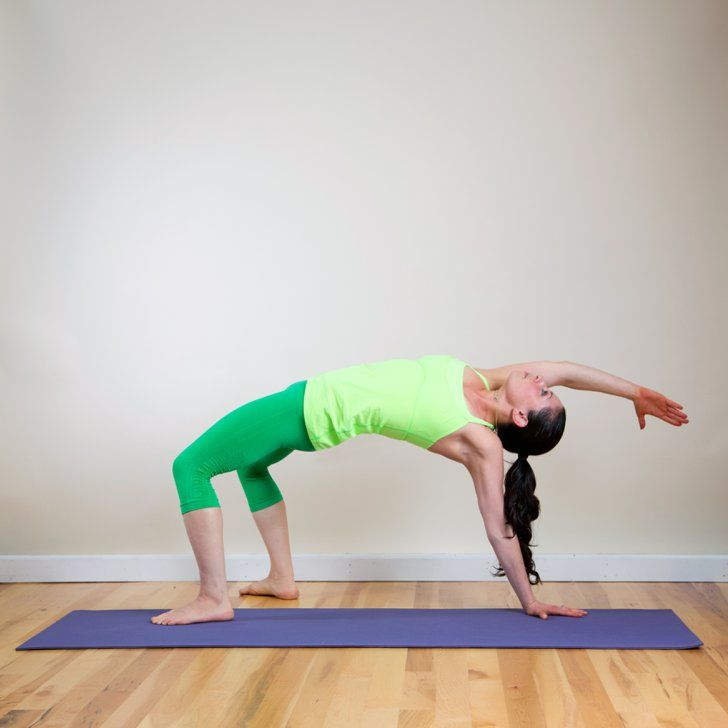 Pin for Later: Feel Stronger and Sexier With This Arm-Sculpting Yoga Sequence Extended Tabletop