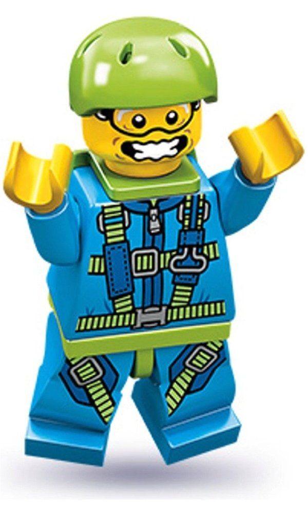Lego Series 10 Skydiver Mini Figure Best Price