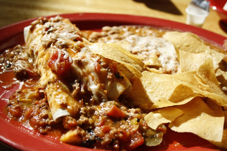 Image detail for -Breakfast burrito that was stuffed with scrambled eggs, chorizo, and ...