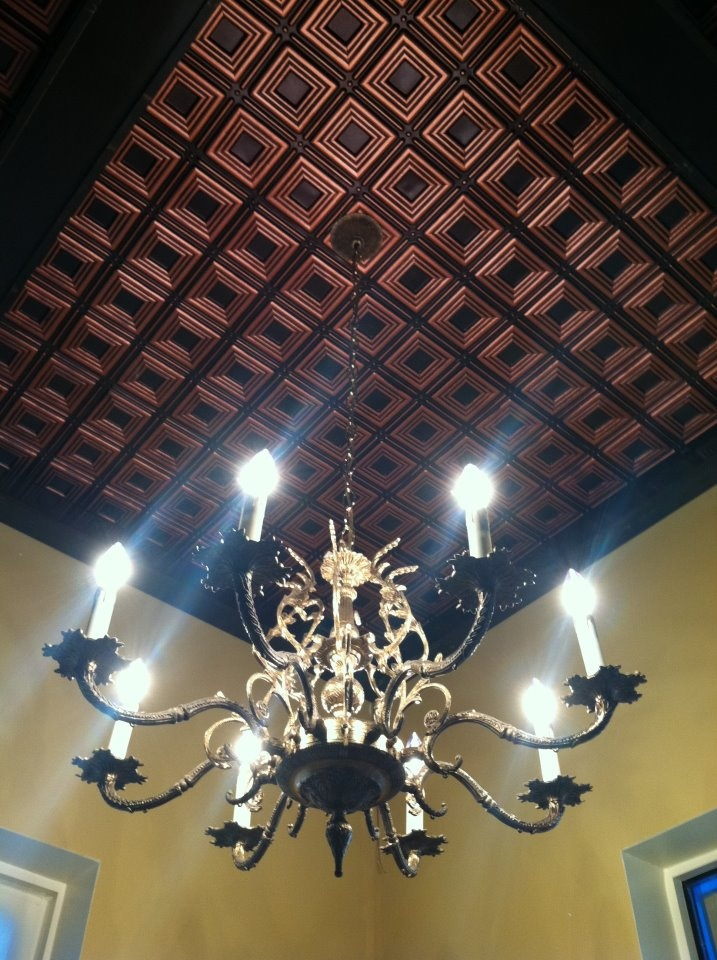 27 best images about faux tin ceiling panels on pinterest