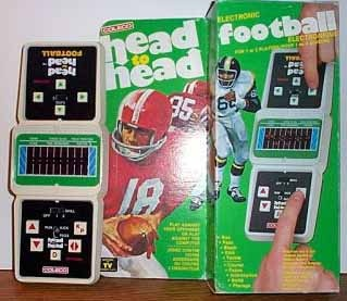 Coleco Head to Head Football and I loved my Head to Head football!