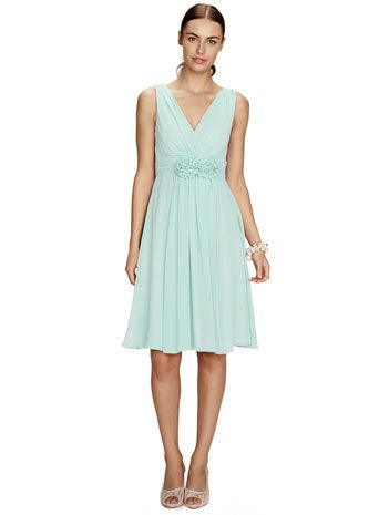 Ruby Mint Short Dress - bridesmaid dresses - adult bridesmaids - Wedding