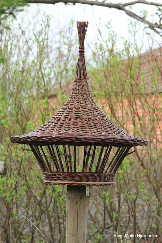 beautiful willow bird table