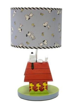 Snoopy lamp.  I want this for my classroom!