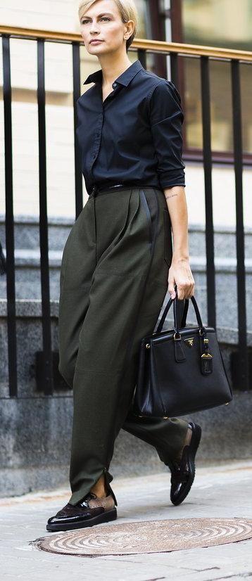 Masha Tsukanova in a dark color scheme