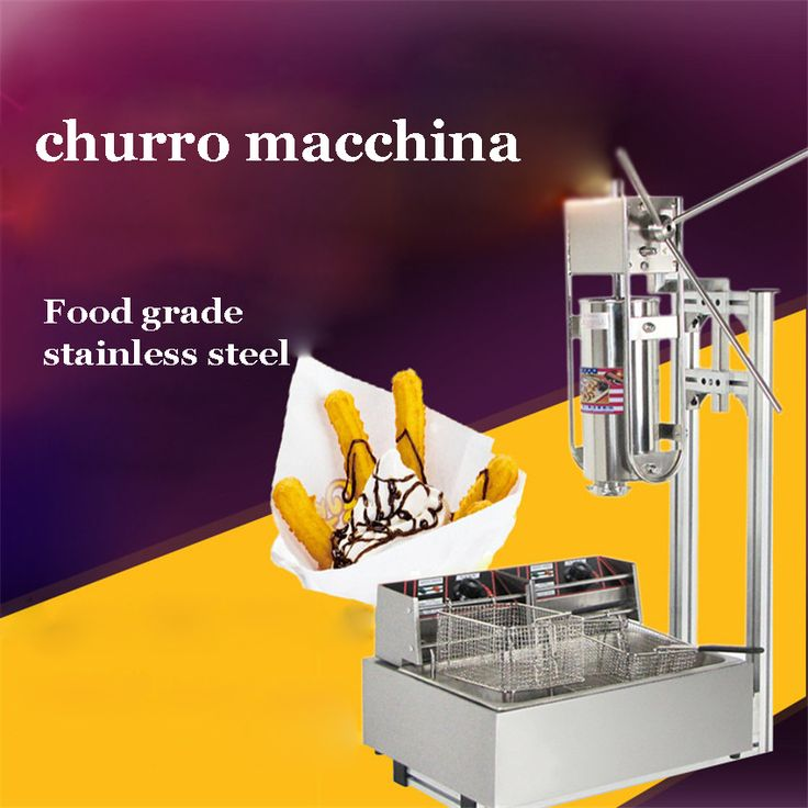 ==> [Free Shipping] Buy Best 110V 220V 5L Manual Churro Machine  Working Stand  12L Deep Fryer  700ml Churro Filler stainless steel Material Online with LOWEST Price | 32750088721