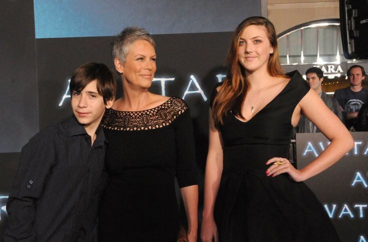 Celebrities Who Have Adopted Kids | POPSUGAR Moms Photo 20...jamie lee curtis