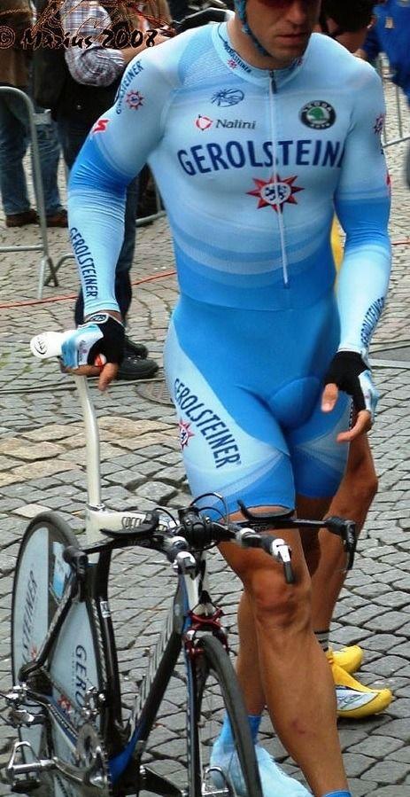 cycling in lycra