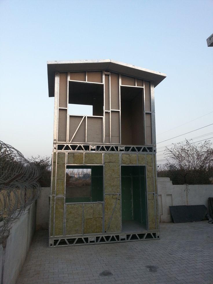 modulair steel frame