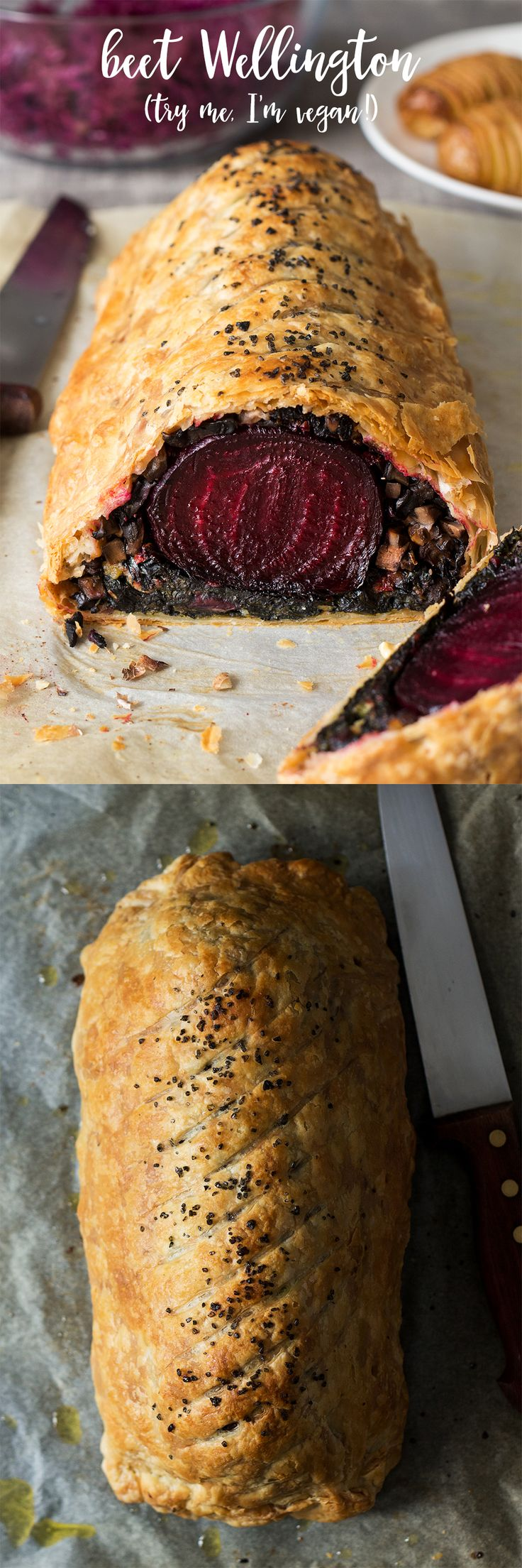 2313 best gorgeous vegan food dinner images on pinterest vegan beet wellington with balsamic reduction vegetarian recipes forumfinder Images