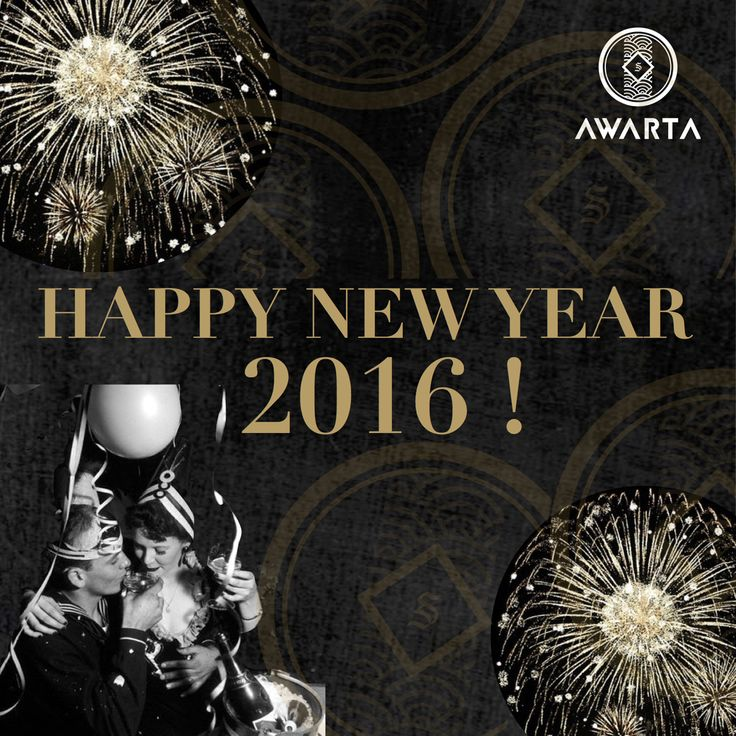 HAPPY NEW YEAR 2016 FROM YOUR HOME IN BALI!