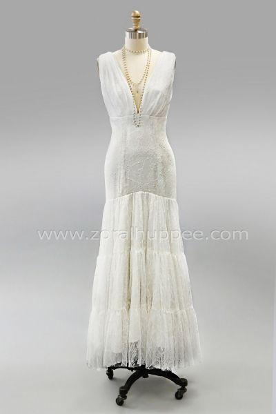 Robe de mariée Québec no.84 - 2018 - Robe bohémienne. Zora L Huppée