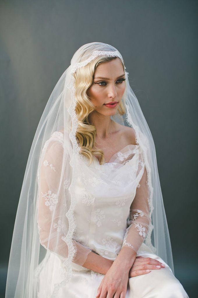 nice Потрясающие прически на свадьбу на средние волосы (50 ...