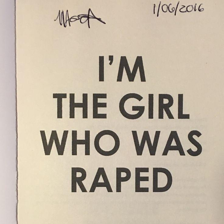 Michelle Hattingh (http://www.modjajibooks.co.za/titles/im-the-girl-who-was-raped/)