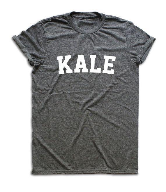 Kale Shirt, Kale T-shirt, Kale Tshirt, Vegan Shirt, Vegan T Shirt