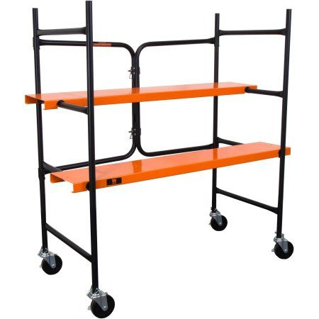 WEN 500 lb Capacity Collapsible Rolling Scaffolding