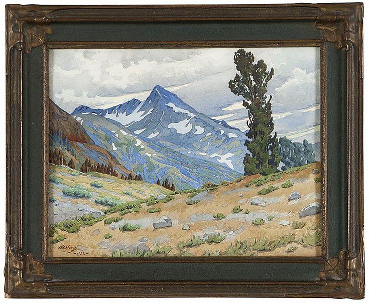 Gunnar Widforss (1879-1934 Grand Canyon, AZ) - by John Moran Auctioneers