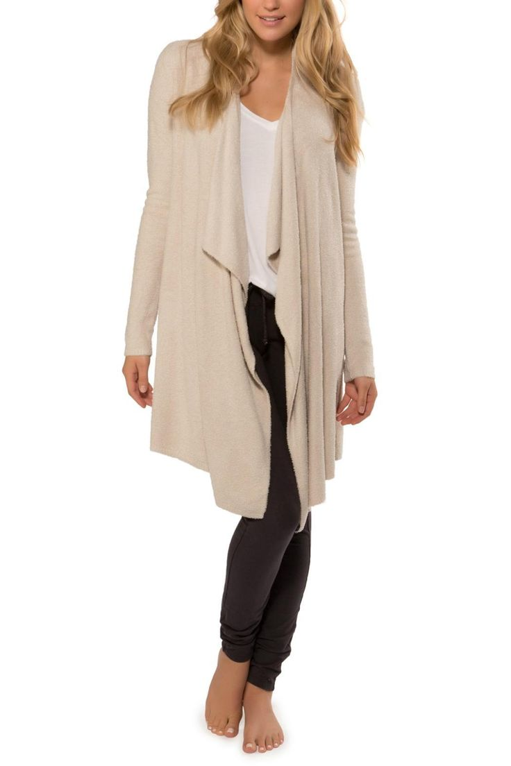 This soft, sophisticated long sleeved wrap can be worn multiple ways and is ideal for any occasion. Bamboo Calypso Wrap by Barefoot Dreams. Clothing - Sweaters - Cardigans Florida