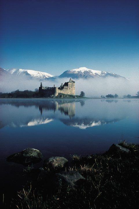 "ollebosse: "" Kilchurn Castle, Loch Awe, Scotland """