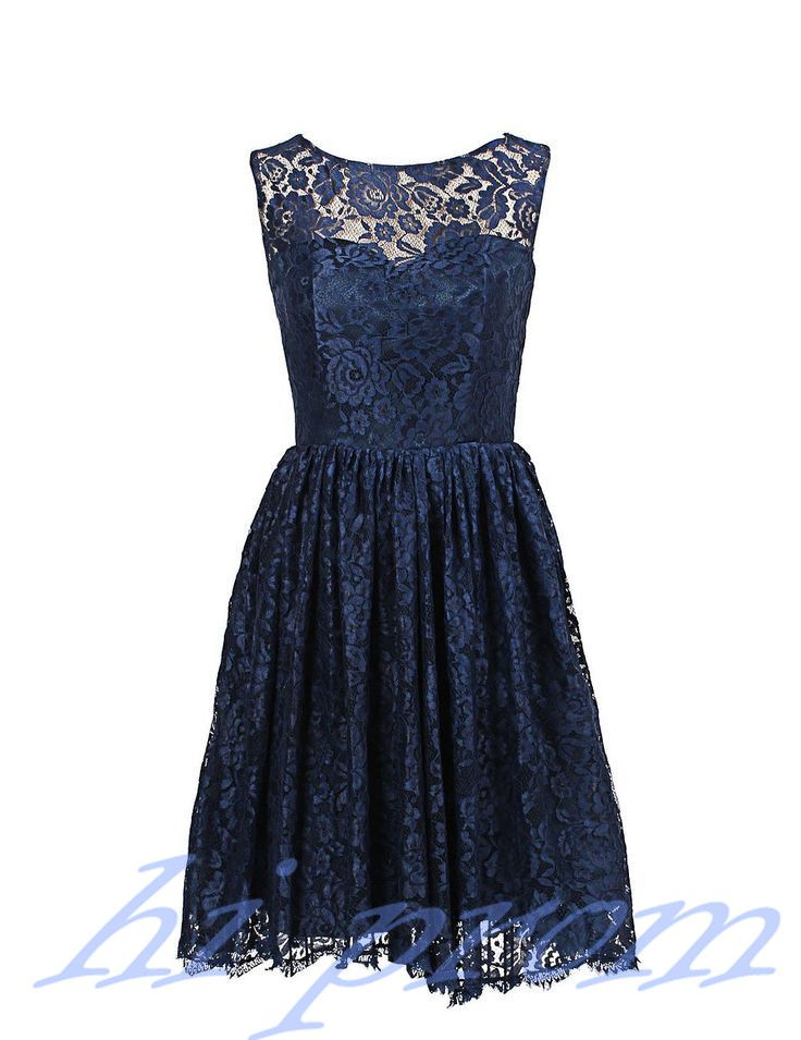 Lace Bridesmaid Dress,Short Bridesmaid Gown,Navy Blue Bridesmaid Gowns,Wedding Bridesmaid Dresses,Fall Bridesmaid Gowns,Vintage Brides Dress,Dark Navy Prom Gowns