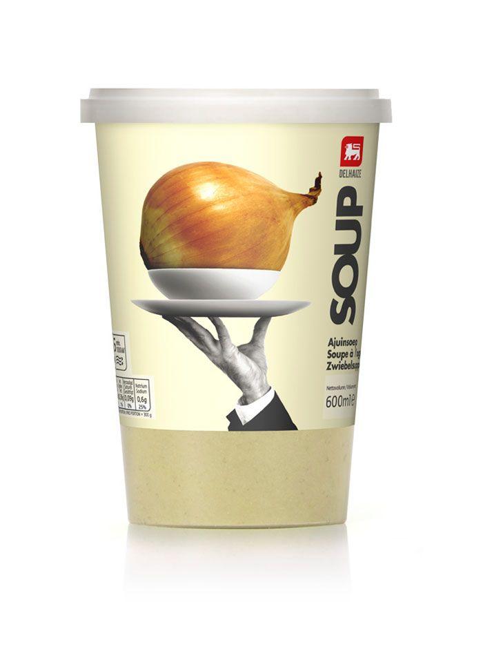 Delhaize: Soup - Lavierna & Cienfuego Design, Spain