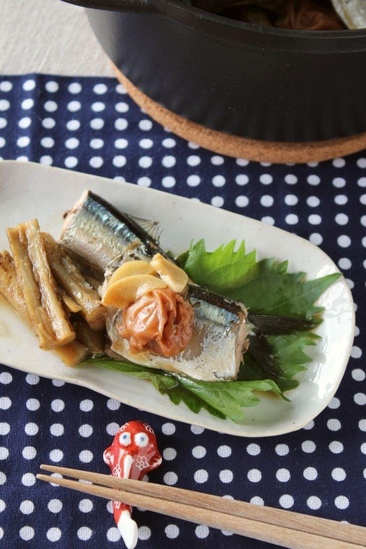 さんまの梅にんにく煮 by 調理師あこ | レシピサイト「Nadia | ナディア」プロの料理を無料で検索