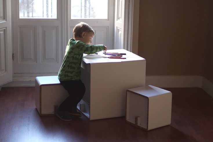 CUBE KID - Online store: www.cardboard.es #cardboard #furniture #eco #ecofriendly #reboard #design #ecohouse