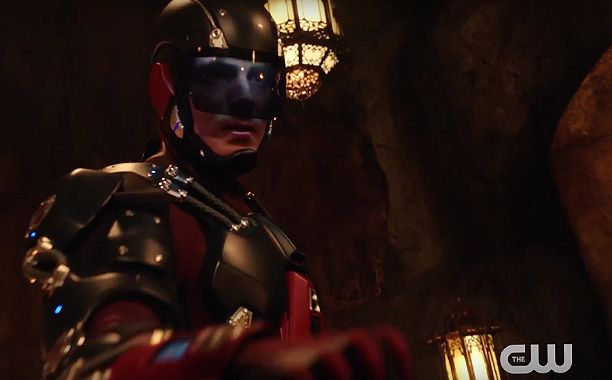 "DC's Legends of Tomorrow will end its freshman run with a bang.  A new trailer released at WonderCon reveals many jaw-dropping moments, from the introduction of Jonah Hex (Jonathan Schaech) and a young Talia Al Ghul to a potentially giant A.T.O.M. and the arrival of Firefly alum Jewel Staite, who will play someone who has ""ties to Ray,"" EP Marc Guggenheim teased."