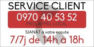 Notre service client