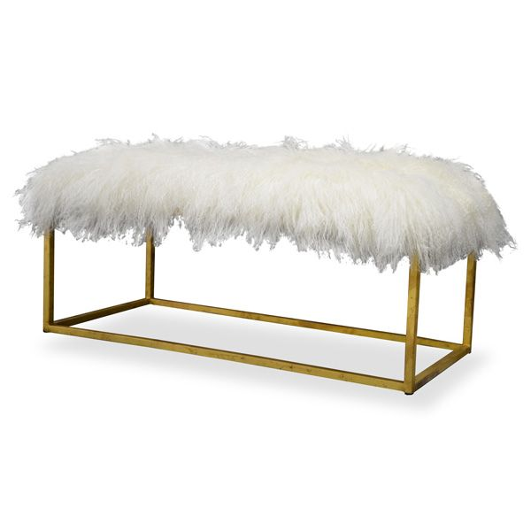 DIY Faux Fur Coffee Table