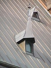 Metal roof w polymer coating - long lasting