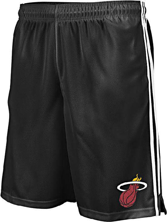 Miami Heat Logo Preferred Practice Shorts by Adidas $31.95