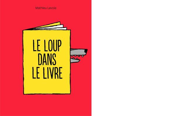Le loup dans le livre - Comme des géants | Éditions jeunesse