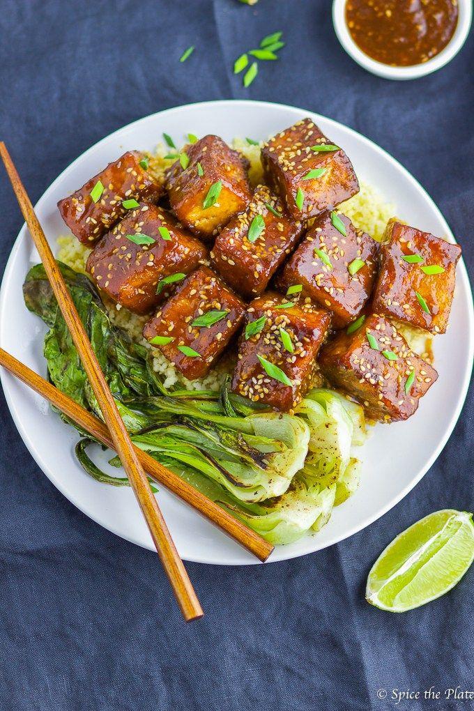 Soy-Brown Sugar Glazed Pan-fried Tofu   Recipe   Whole Foods