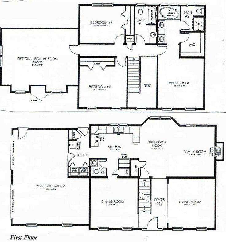 Best 25+ Two storey house plans ideas on Pinterest | 2 storey ...