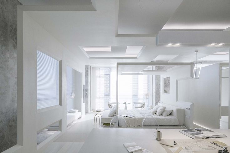 Gallery Of A Spatial Quartet On Future Dwellings Archstudio Design Apartment Soda Architects B L U E Architecture Studio 10 Apartment Design Interior Design And Technology Interior Design Images