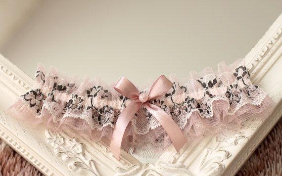 dusty rose wedding garter dusty rose garter dusty pink
