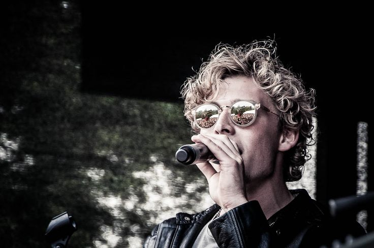 Copenhagen-based pop singer, Christopher Nissen's curly coif